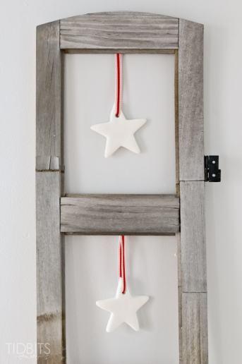 Hanging Clay Stars