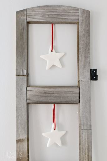 Hanging Clay Stars