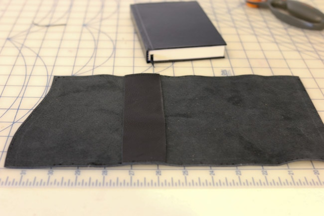 Leather Book Cover Diy : Leather journal cover diy