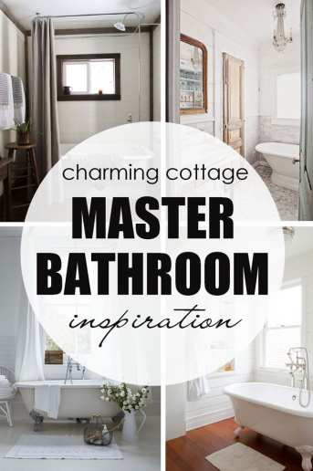 Master Bathroom Inspiration – and SURPRISE GIVEAWAY!