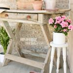 Thrift Store Plant Stand Makeover
