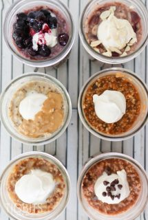 Mason Jar Steel Cut Oats