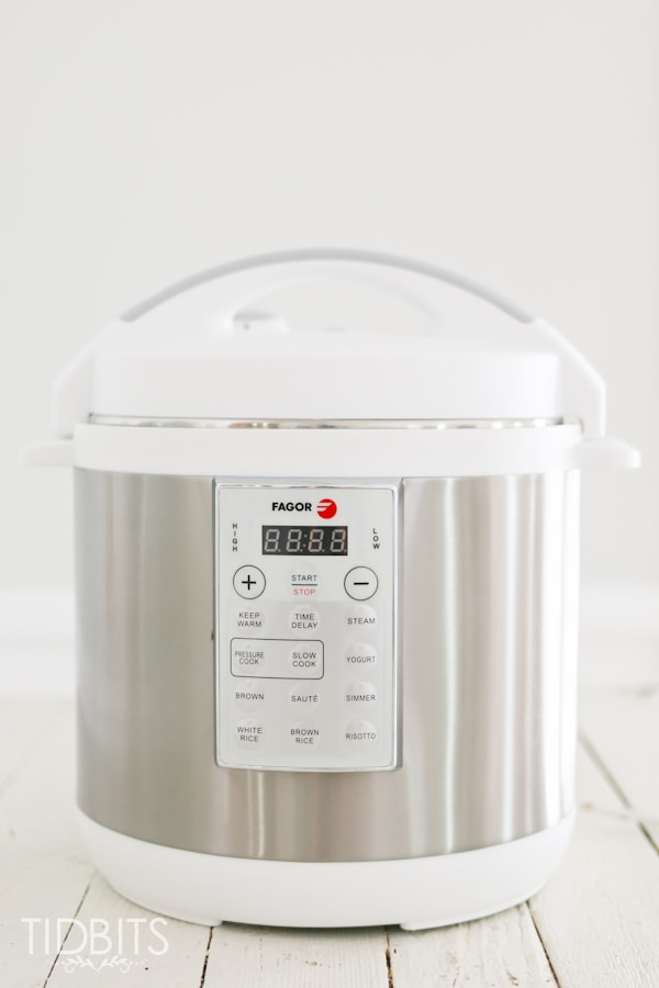 how to use fagor electric pressure cooker