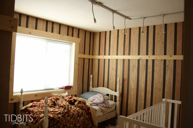 Girls shared bedroom before and after tour.