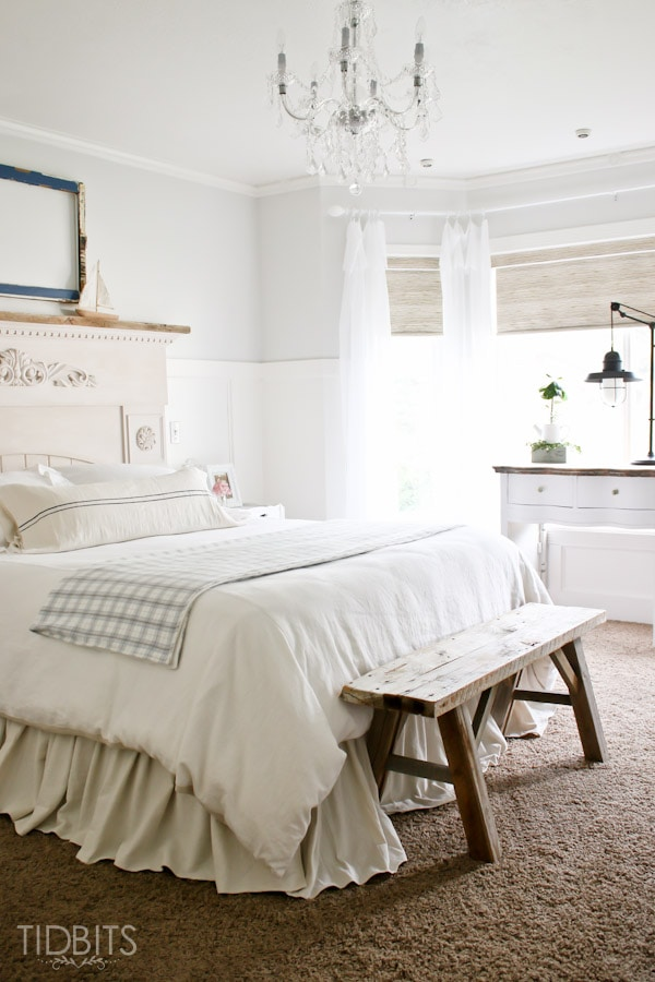 Master Bedroom before and after tour.