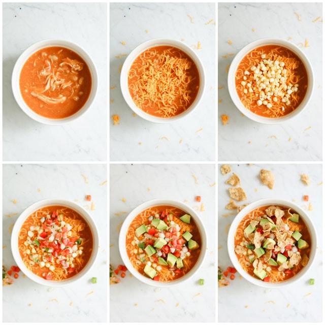 Pressure cooker creamy enchilada soup.