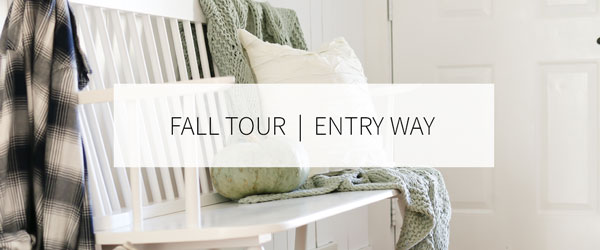 FALL HOME TOUR   ENTRY WAY
