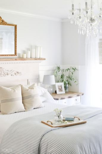 Summer Bedroom Relaxed Decorating