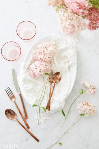 Fall Color Scheme | Blush Pink and Copper