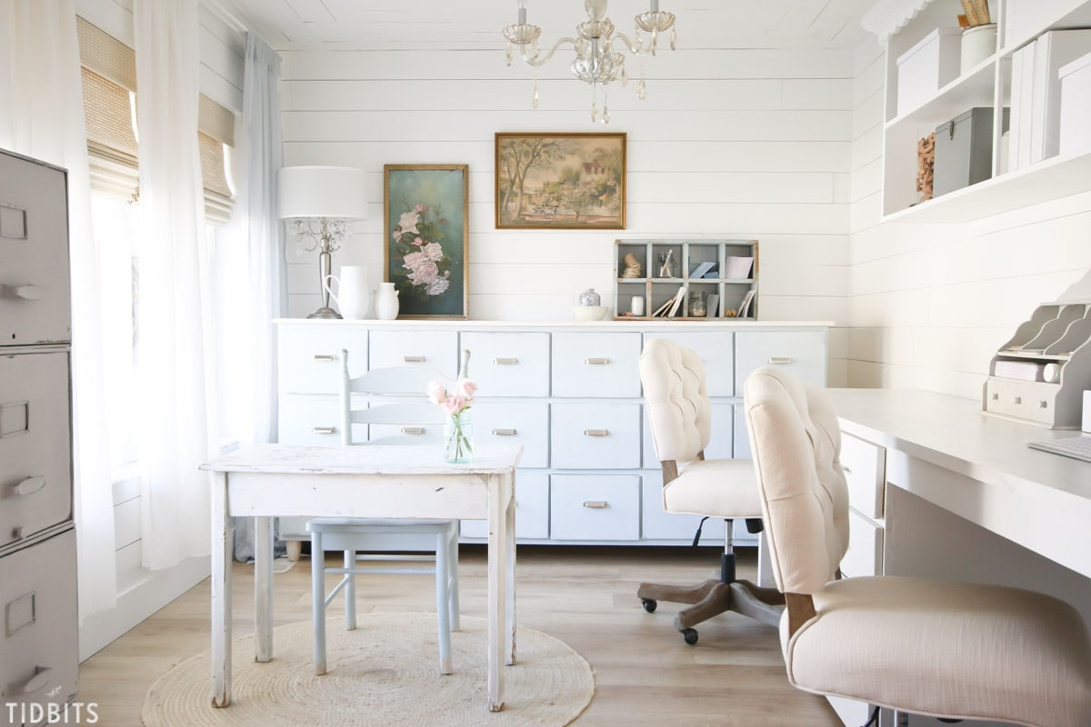Home Office Makeover by TIDBITS