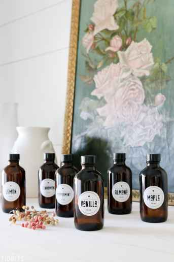 Printable Vanilla Extract Labels