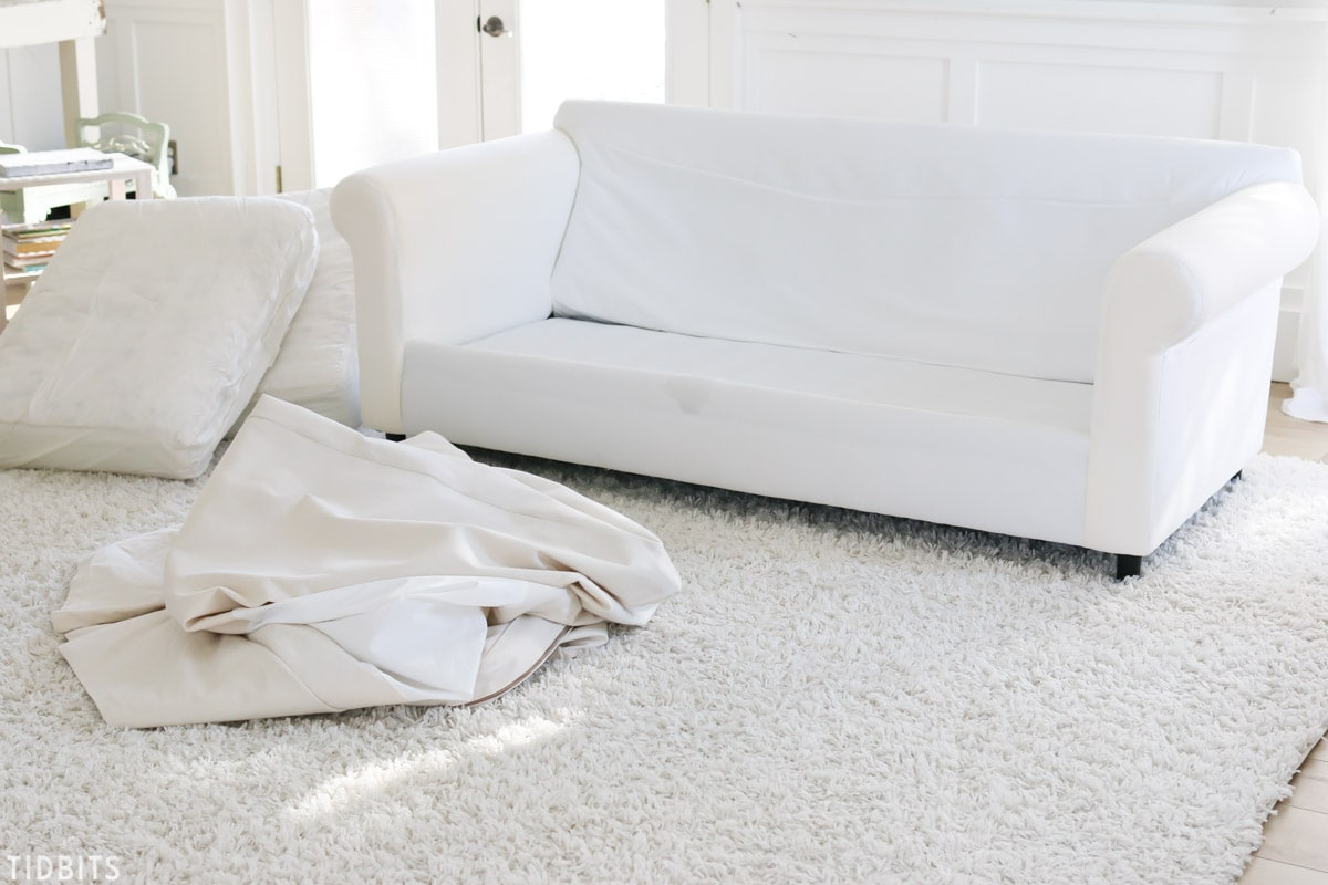 one arm sofa slipcover cheapest sets online in india tips and tricks for cleaning slipcovers tidbits