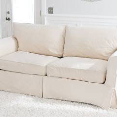 Off White Slipcover Sofa Comfortable Beds Vancouver Design Cover With T