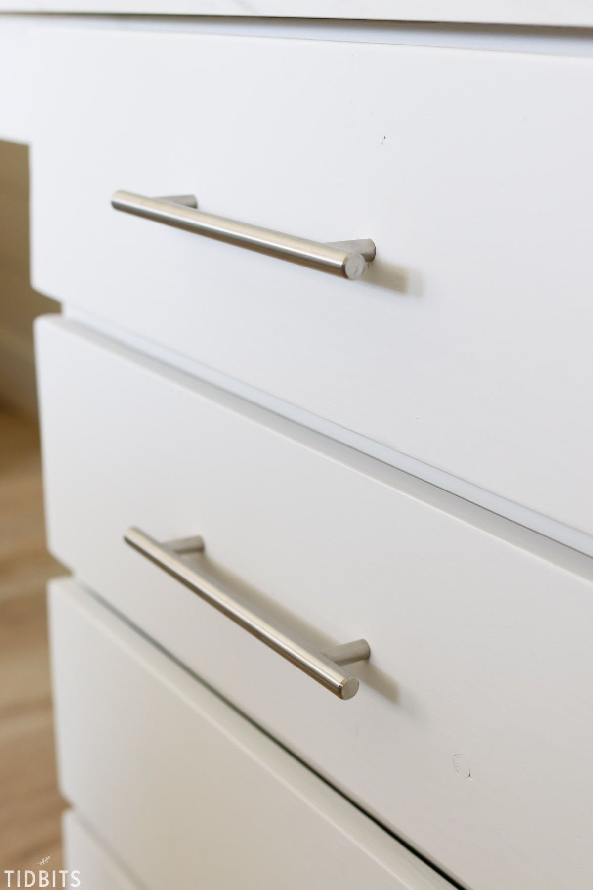 How to Install Cabinet Hardware - Tidbits