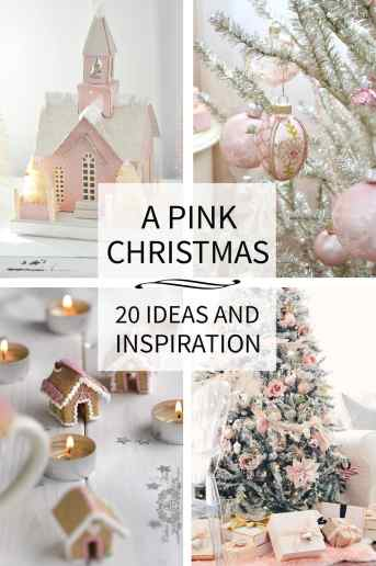 Pink Christmas Inspiration and Ideas