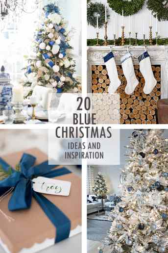 A Blue Christmas Ideas and Inspiration