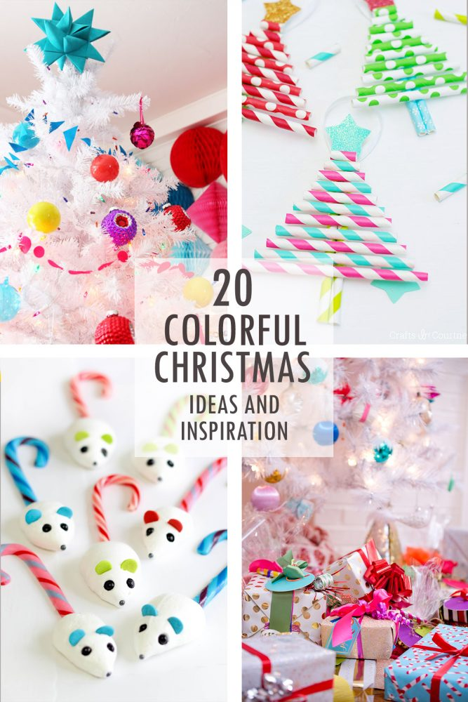 colorful christmas ideas and