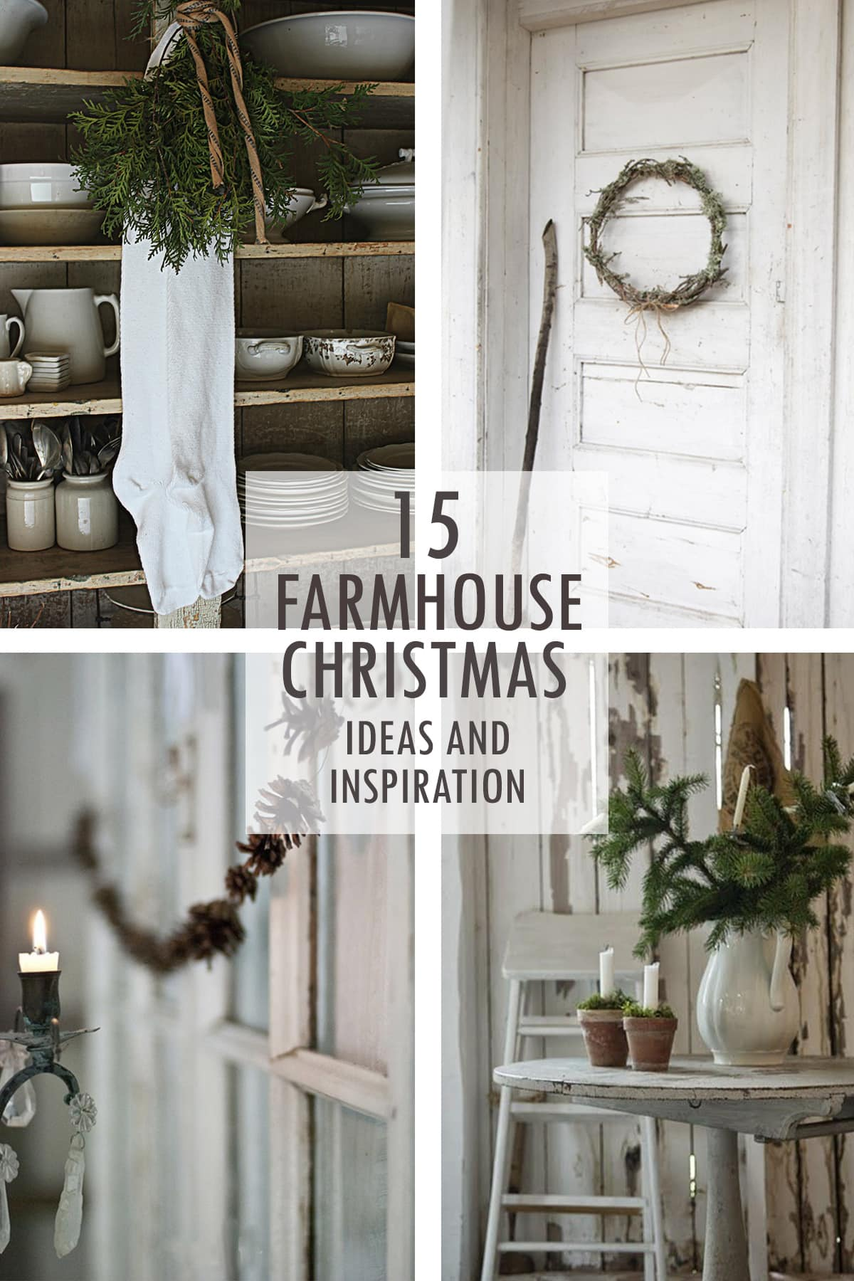 Farmhouse Christmas inspiration