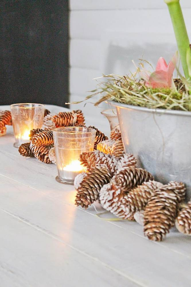A Scandinavian Christmas Decor
