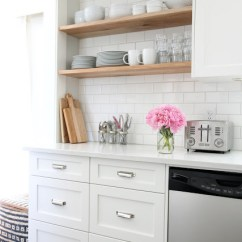 Kitchen Open Shelves Refurbished Table Shelving Is It Still In Or On Its Way Out Tidbits