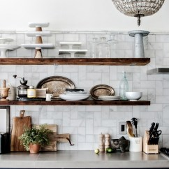 Wood Shelves Kitchen Dining Set Open Shelving Is It Still In Or On Its Way Out Tidbits