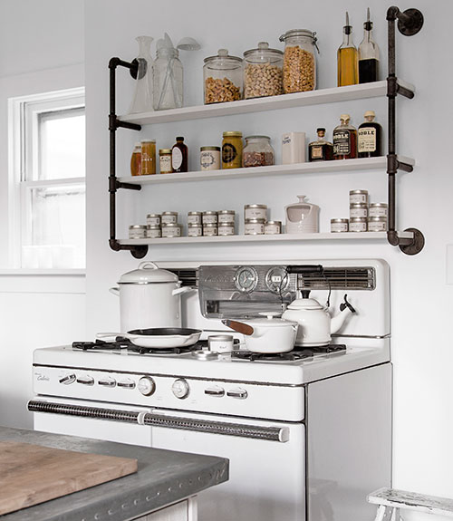 kitchen open shelves countertop shelf shelving is it still in or on its way out tidbits
