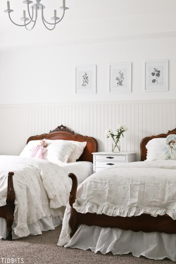French Cottage Girls Bedroom Makeover