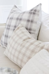 Fall Flannel Quilted Pillow - Tidbits