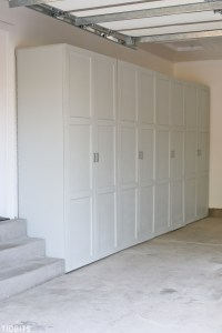 Garage Storage Cabinets | Free Building Plans - Tidbits