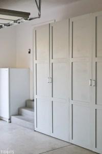 Garage Storage Cabinets   Free Building Plans - Tidbits