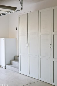 Garage Storage Cabinets | Free Building Plans - Tidbits