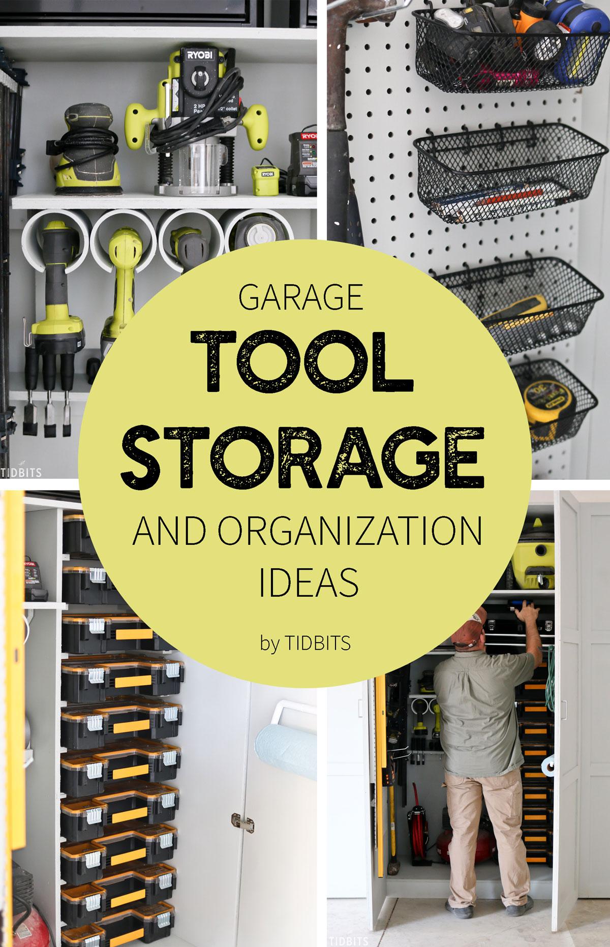 Garage Tool Storage And Organization Ideas Tidbits