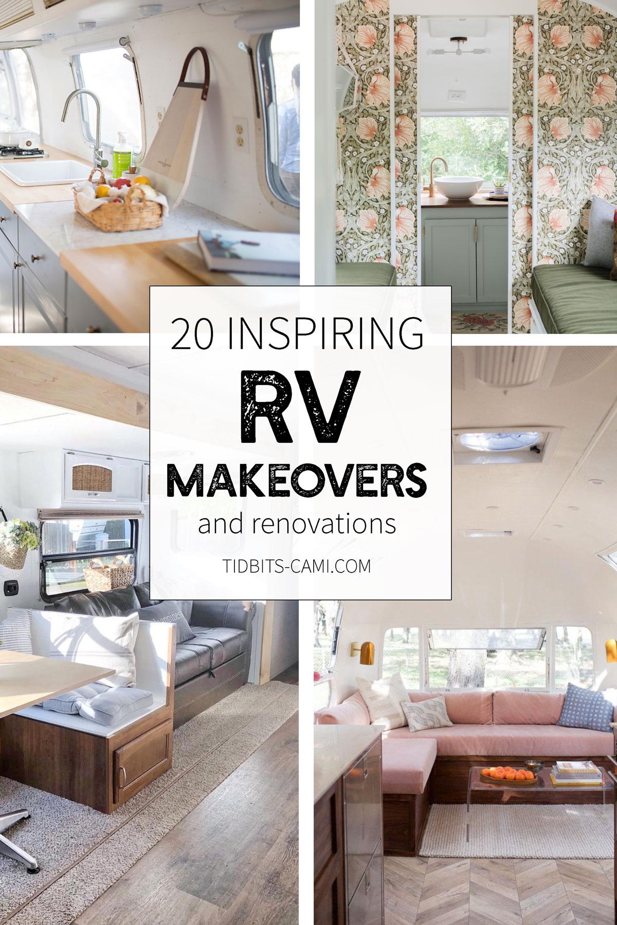 20 Inspiring Rv Makeovers Tidbits