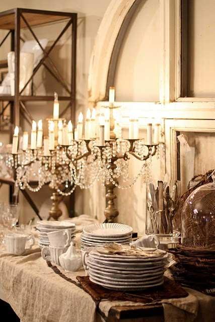 Rustic  Romantic Dining Rooms