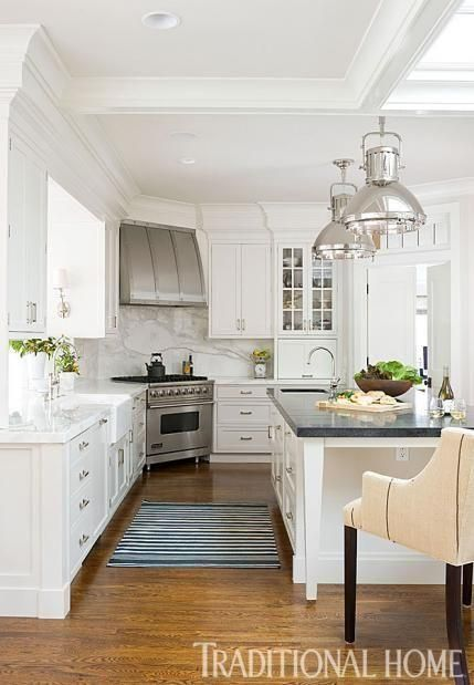 18 White Kitchens That Are Anything But Boring  TIDBITS