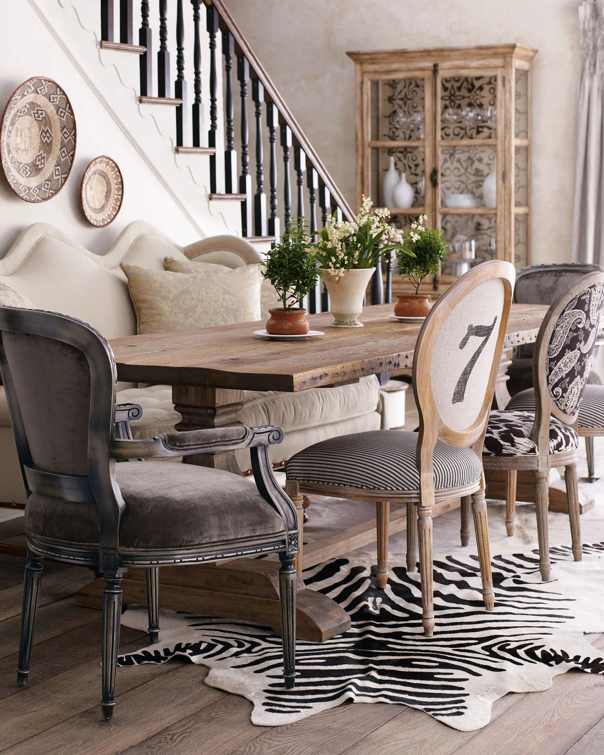 faux leather sofa india upholstery repair how to mix & match dining chairs - tidbits&twine