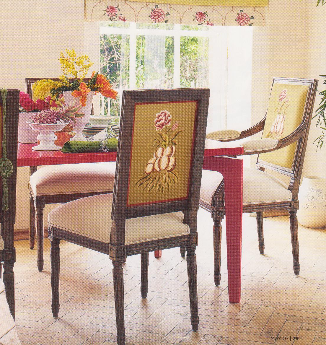 Design Idea 1 Chair  2 Fabrics  TIDBITSTWINE