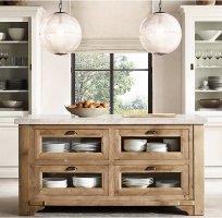 Design Inspiration Freestanding Kitchen Islands   TIDBITS ...