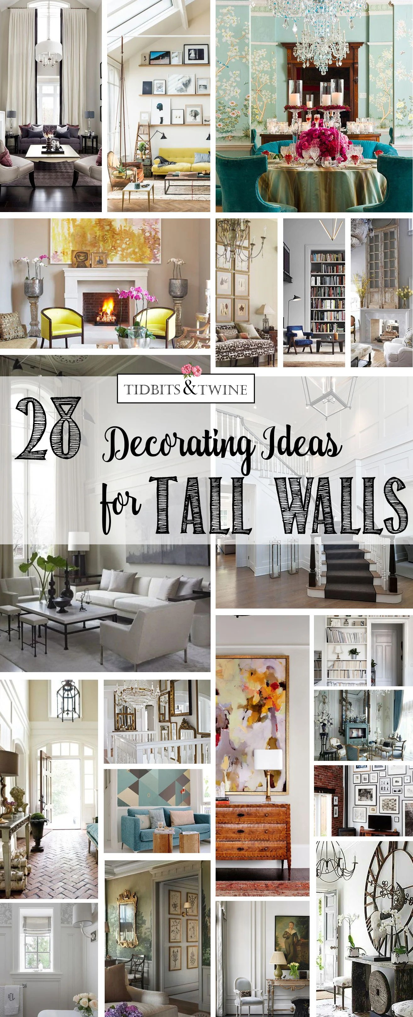decorating ideas for the living room walls drapes 28 creative tall tidbits twine