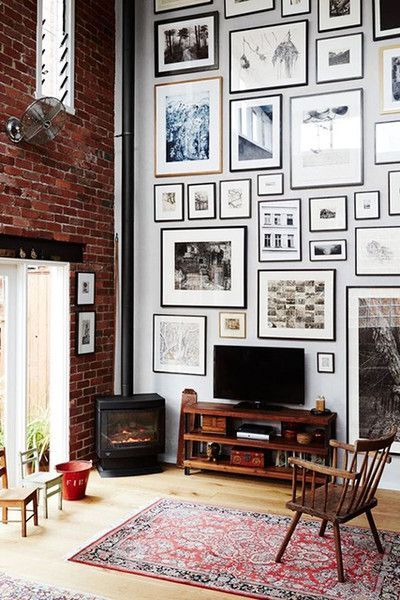 28 Creative Decorating Ideas for Tall Walls  TIDBITSTWINE