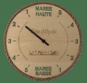 Horloge des marées - coup d'oeil