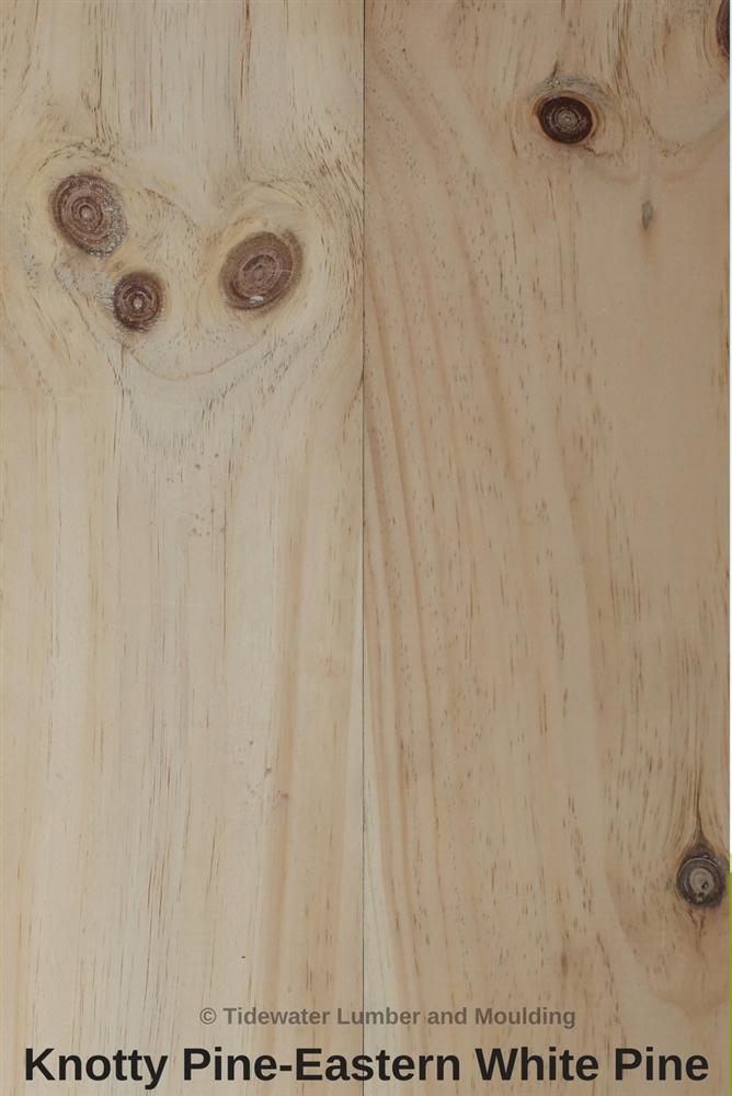 Knotty White Pine Hemlock Lumber Tidewater Lumber