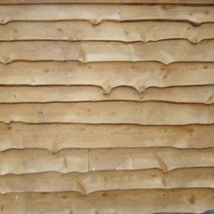 Wavy Edge Siding Natural Siding Tidewater Lumber