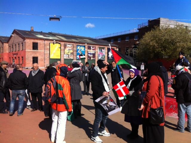 Solidaritet med de sultestrejkende palæstinenser