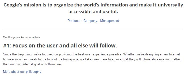 Chrome user experience fail