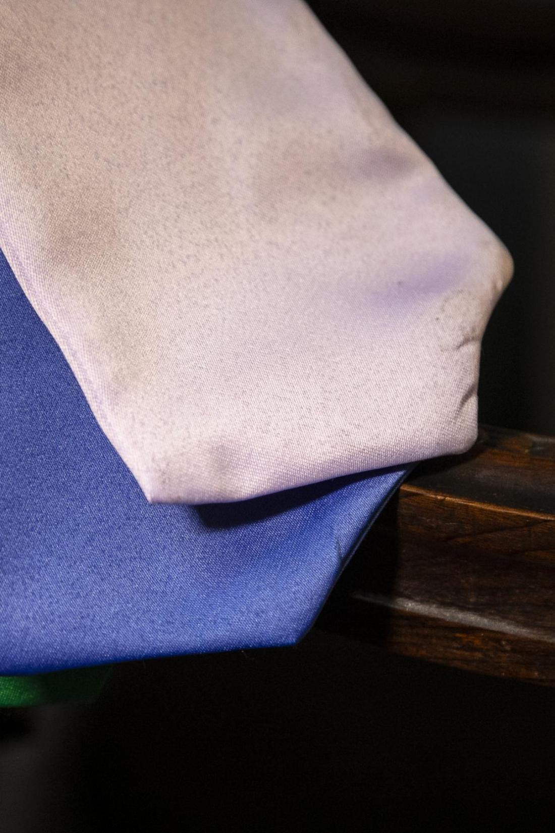 7 - gravatas coloridas para beca americana