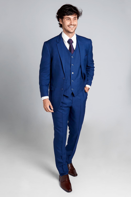 14 - Terno azul marinho slim
