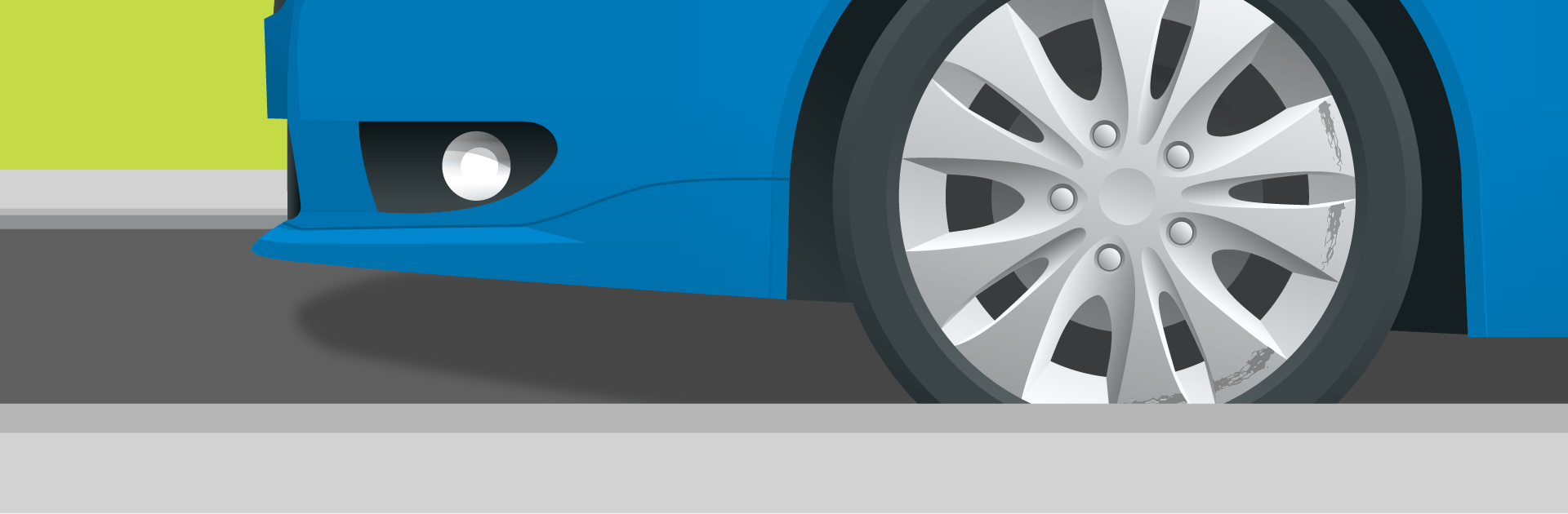 tidyalloys.com header banner image 2 showing a damaged alloy wheel