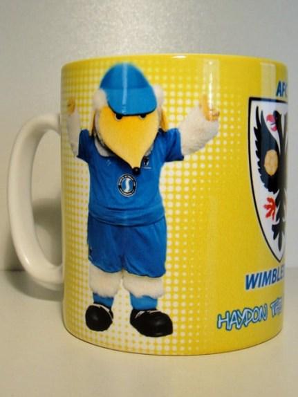 Front of Haydon mug