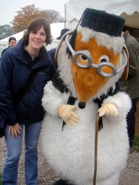 Tara meets Uncle Bulgaria at Wimbledon Bookfest